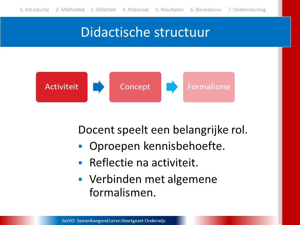 Didactische structuur