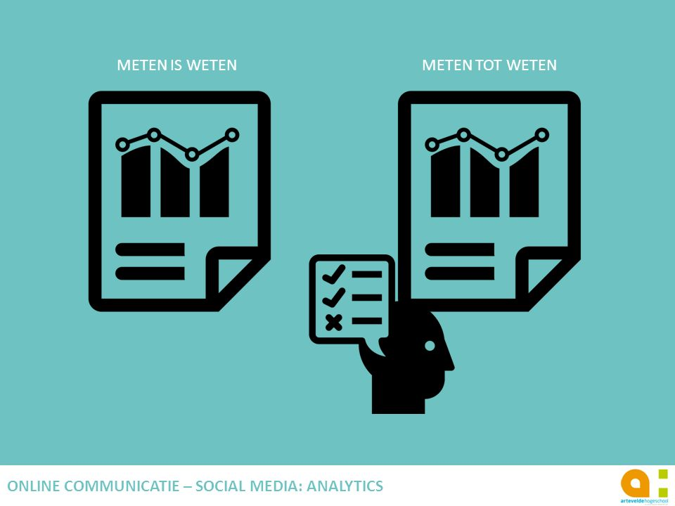 ONLINE COMMUNICATIE – SOCIAL MEDIA: ANALYTICS
