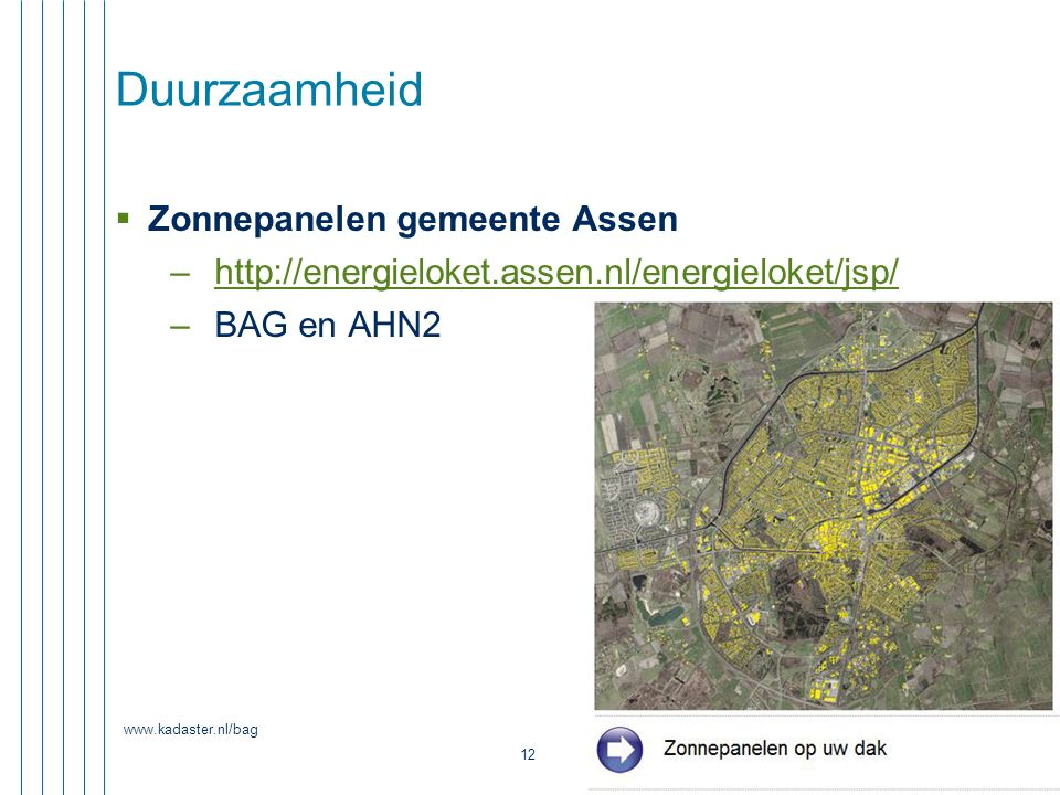 Duurzaamheid Zonnepanelen gemeente Assen