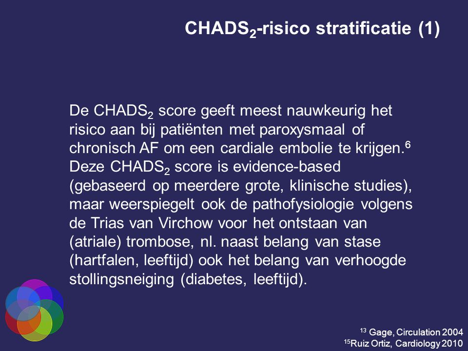 CHADS2-risico stratificatie (1)