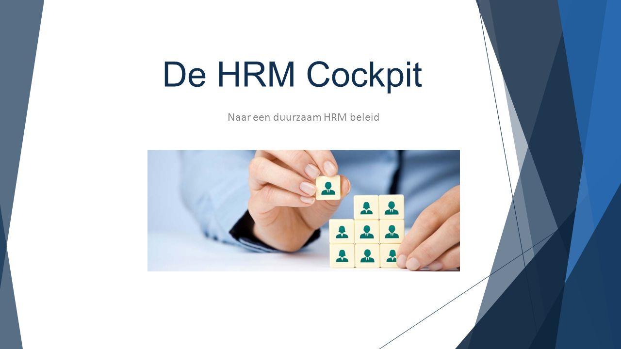 Naar een duurzaam HRM beleid