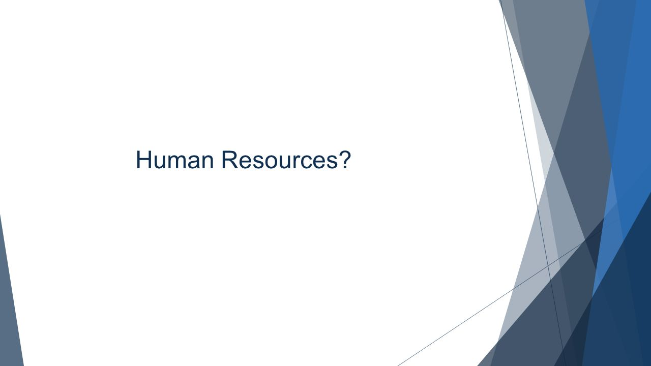 Human Resources Brainstorm