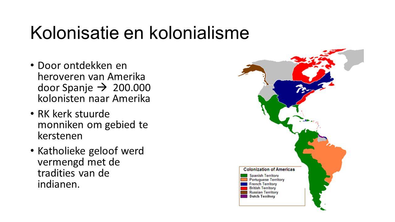 Kolonisatie en kolonialisme