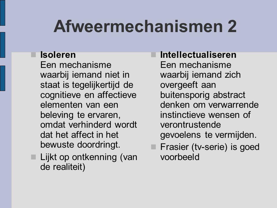 Afweermechanismen 2