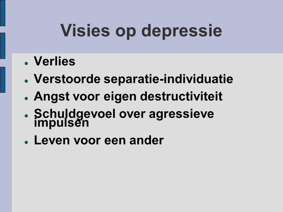 Visies op depressie Verlies Verstoorde separatie-individuatie