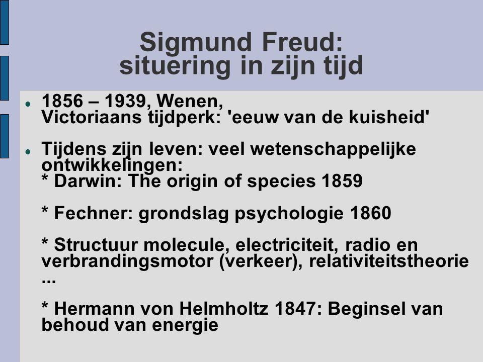 Sigmund Freud: situering in zijn tijd