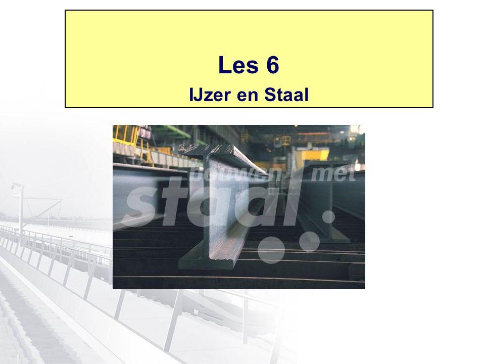 Les 6 IJzer en Staal