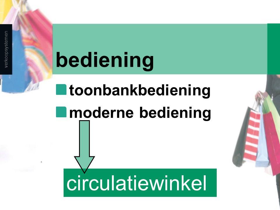 bediening circulatiewinkel toonbankbediening moderne bediening