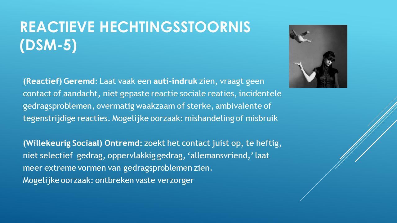 Reactieve Hechtingsstoornis (DSM-5)