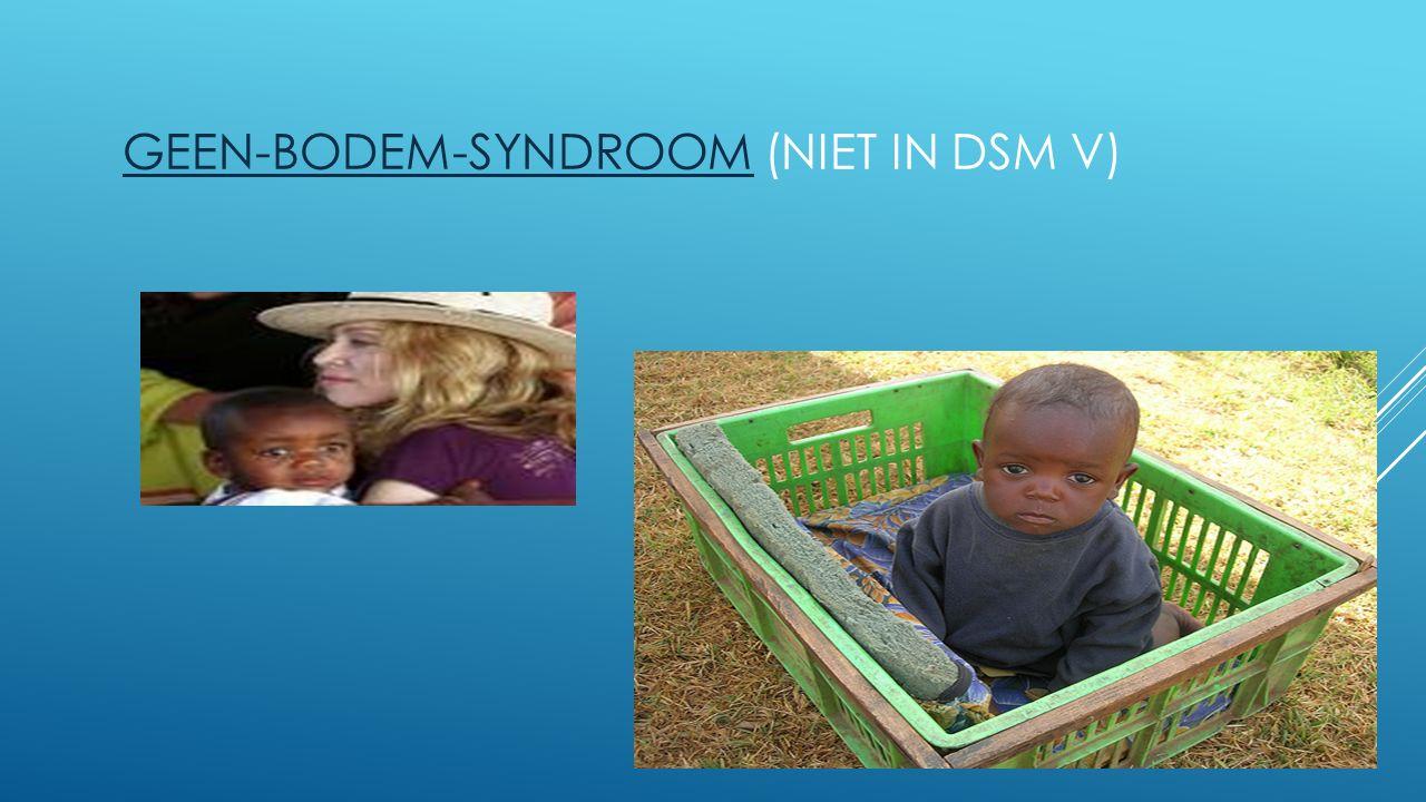 Geen-bodem-syndroom (niet in DSM V)