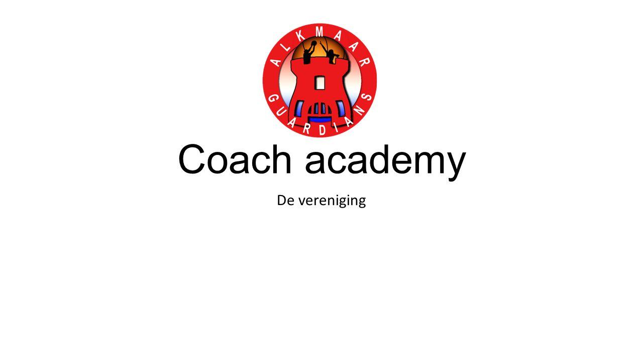 Coach academy De vereniging