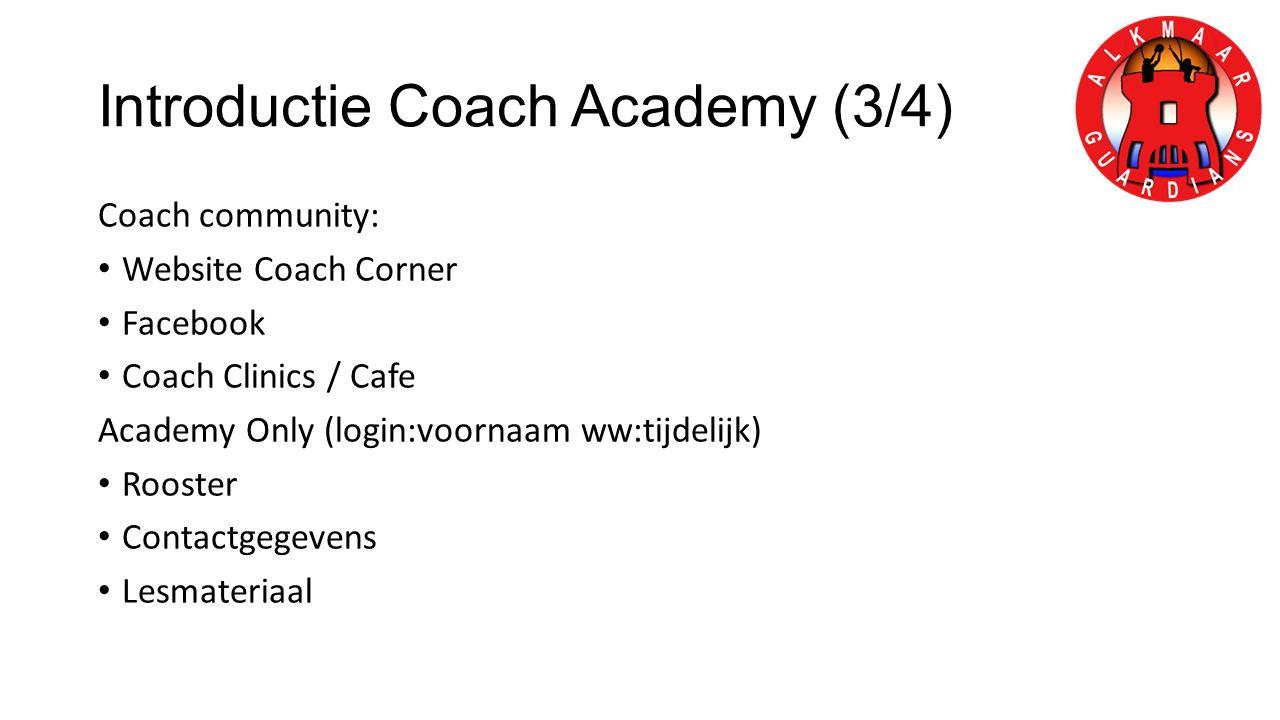 Introductie Coach Academy (3/4)
