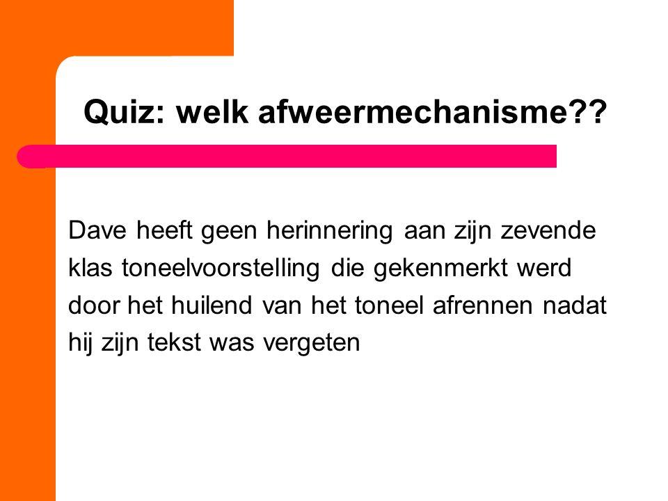 Quiz: welk afweermechanisme