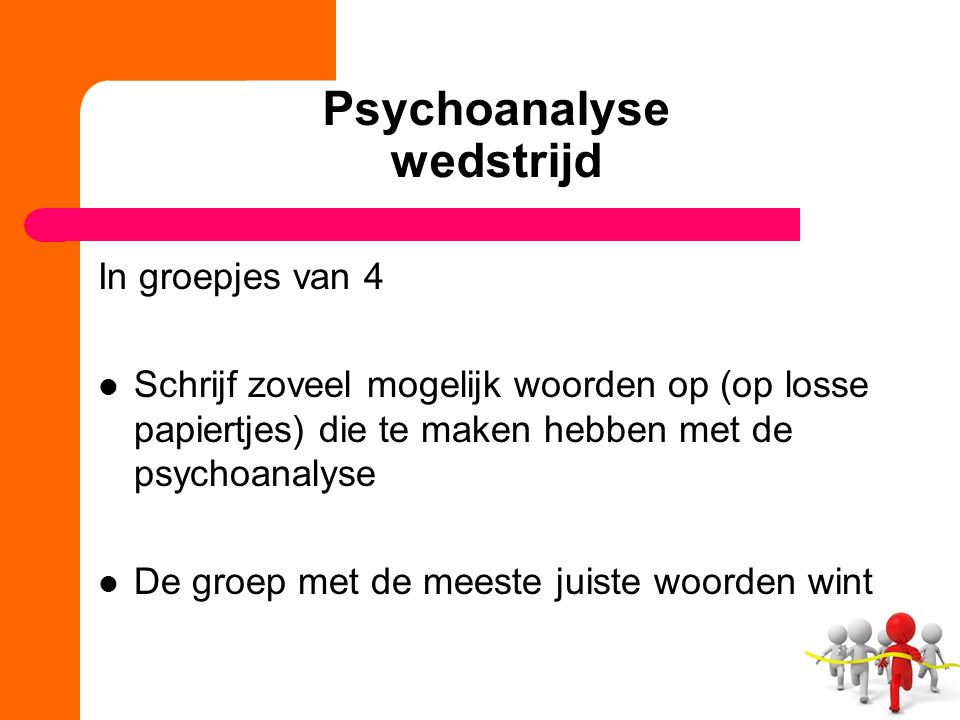 Psychoanalyse wedstrijd