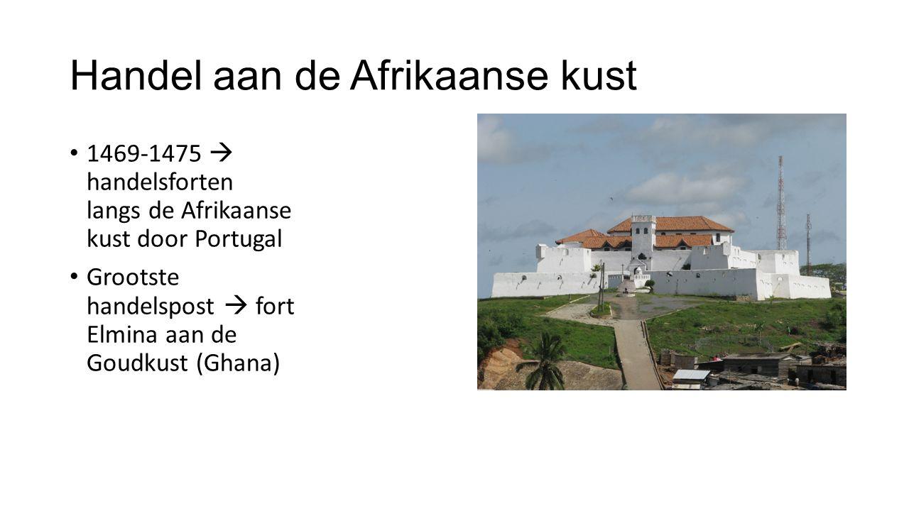 Handel aan de Afrikaanse kust