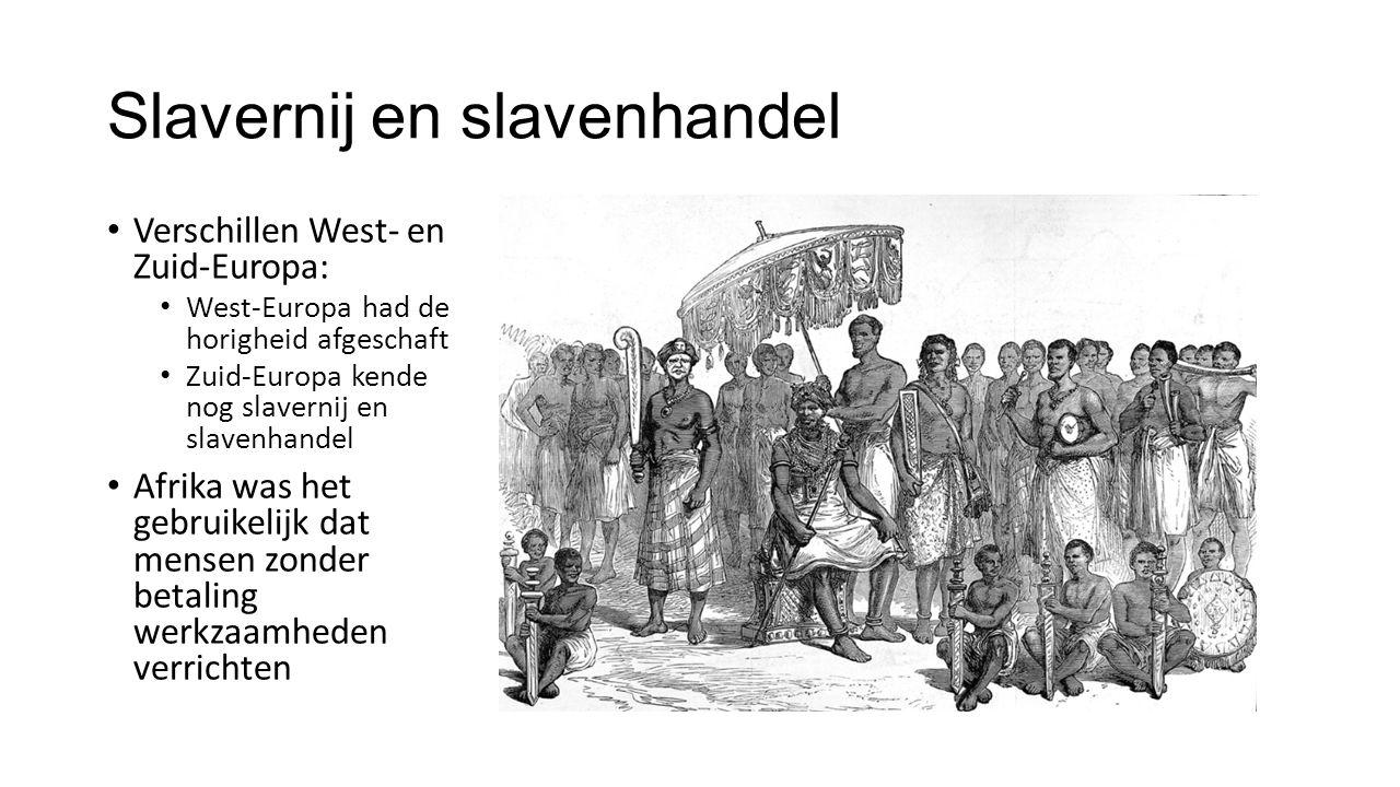 Slavernij en slavenhandel