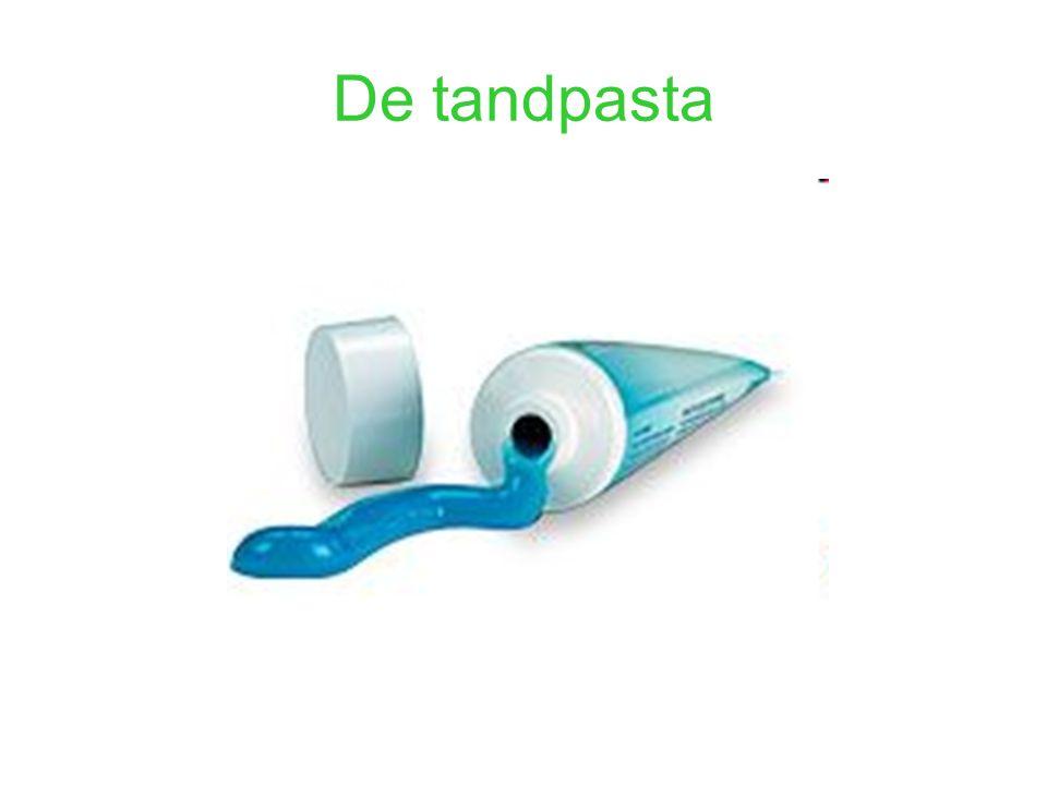 De tandpasta