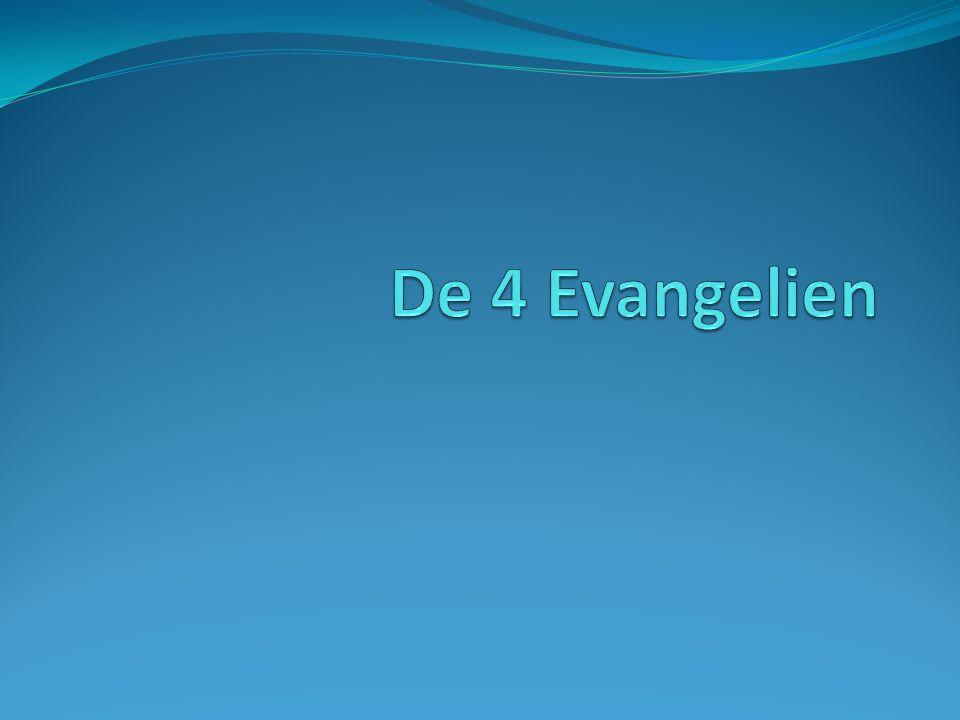 De 4 Evangelien
