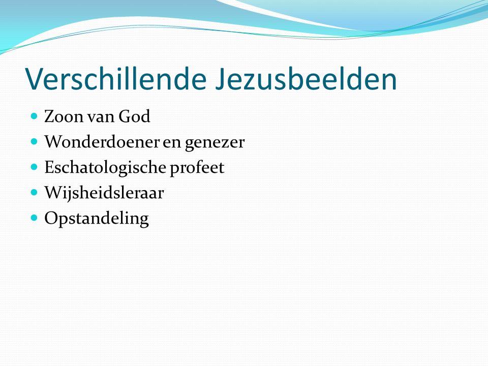 Verschillende Jezusbeelden