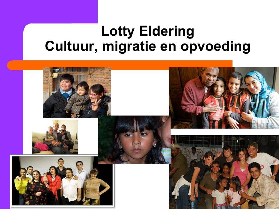 Lotty Eldering Cultuur, migratie en opvoeding