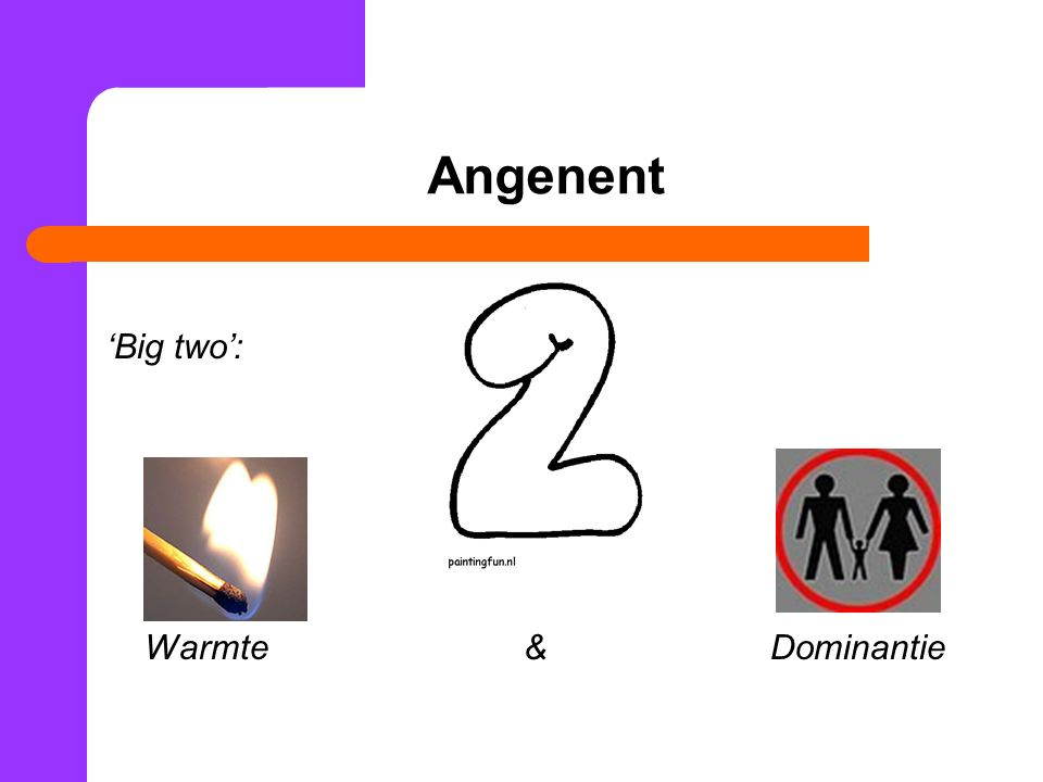 Angenent 'Big two': Warmte & Dominantie