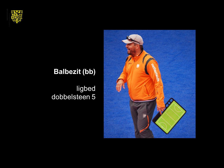 Balbezit (bb) ligbed dobbelsteen 5