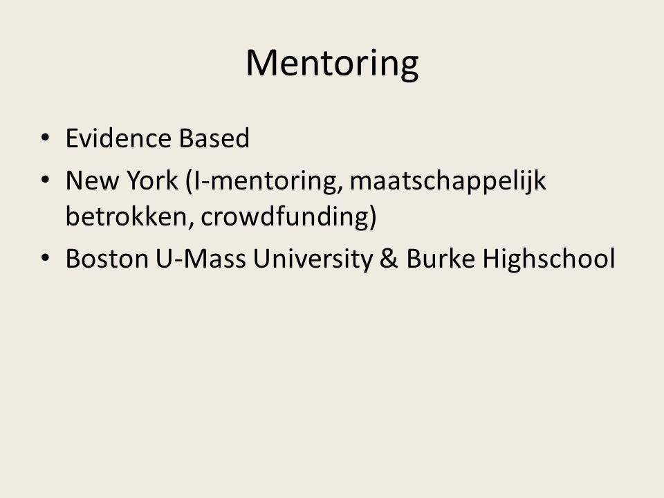 Mentoring Evidence Based