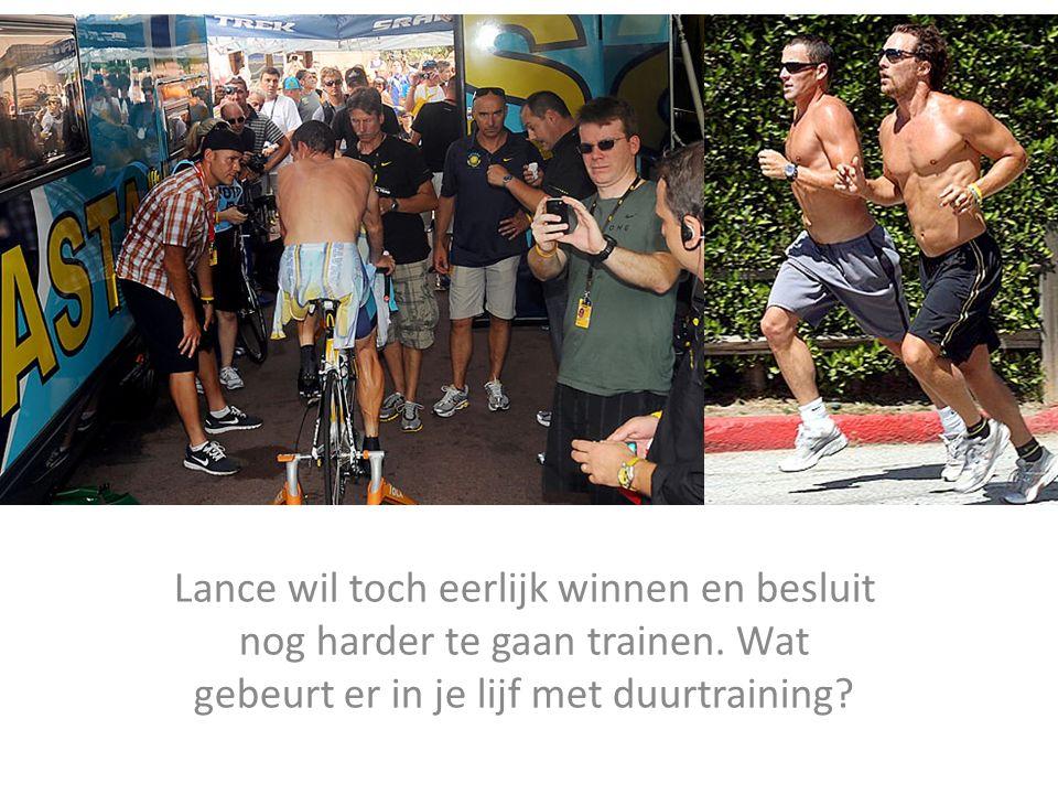 Lance wil toch eerlijk winnen en besluit nog harder te gaan trainen