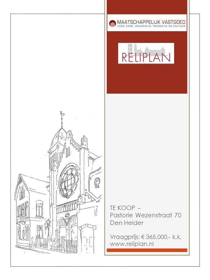 TE KOOP – Pastorie Wezenstraat 70 Den Helder