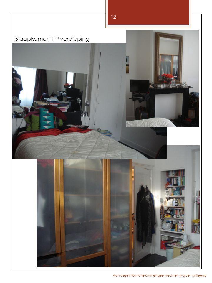 Slaapkamer; 1ste verdieping