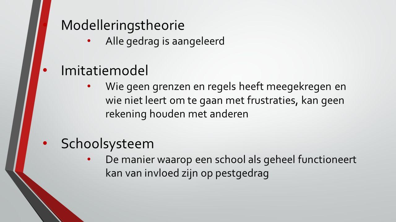 Modelleringstheorie Imitatiemodel Schoolsysteem