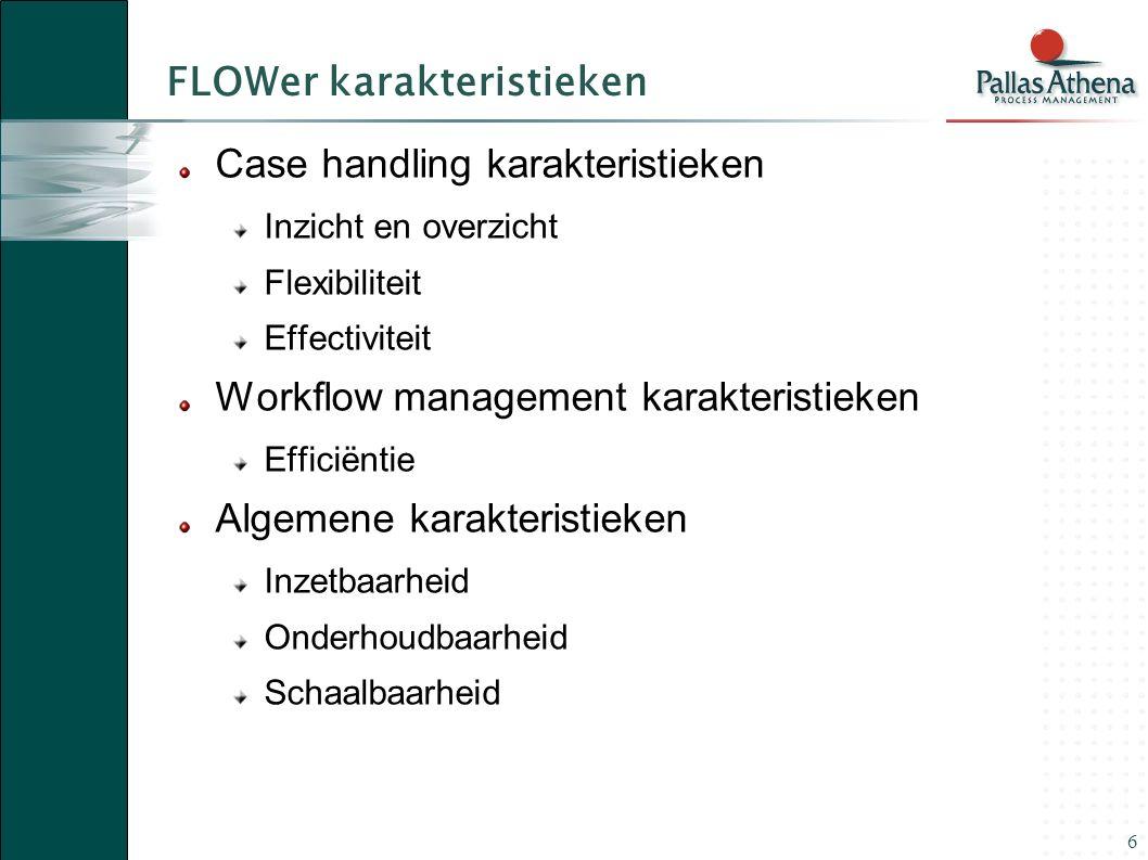 FLOWer karakteristieken