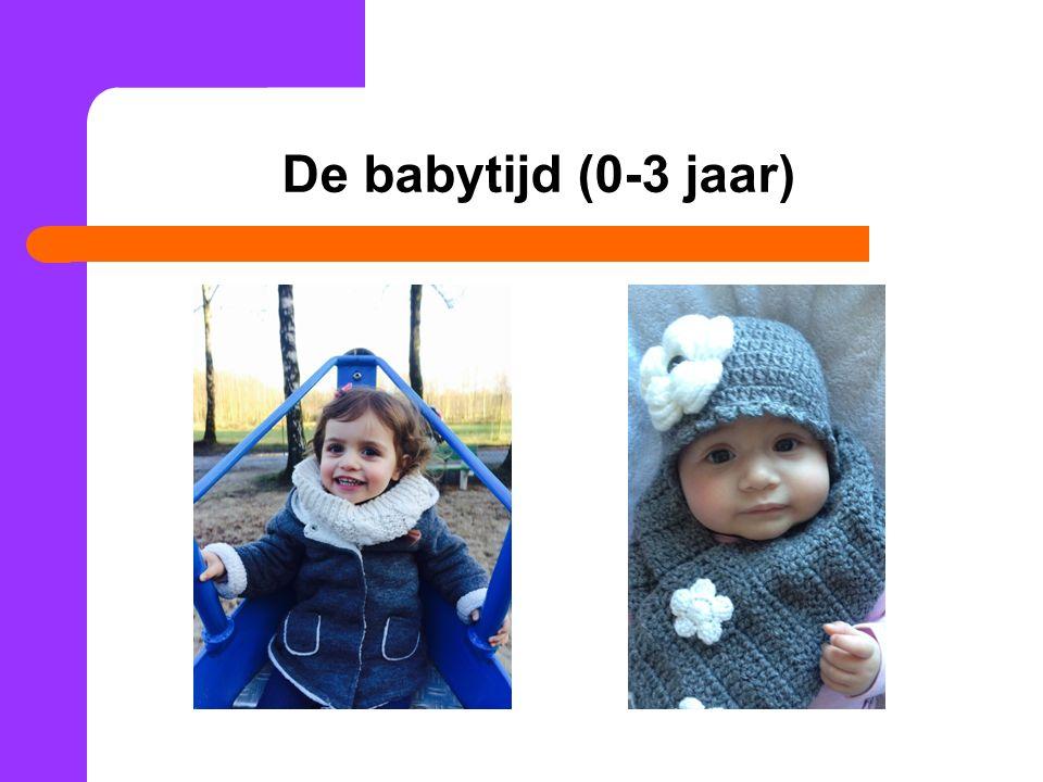 De babytijd (0-3 jaar)