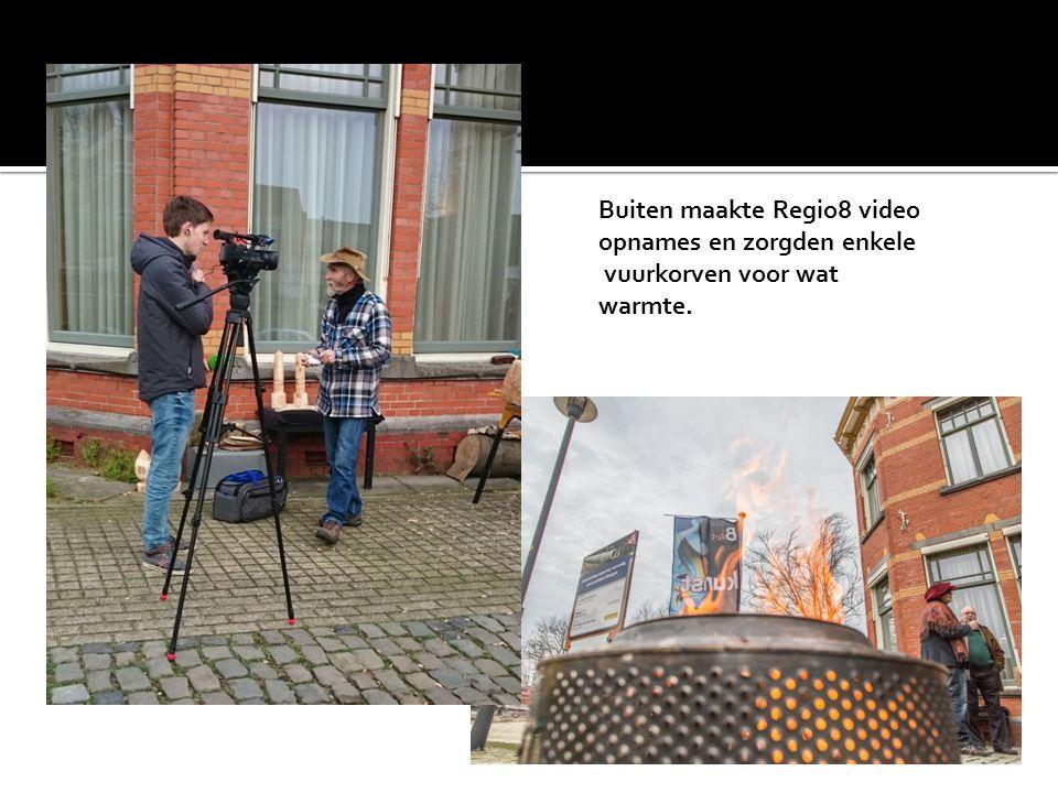 Buiten maakte Regio8 video opnames en zorgden enkele