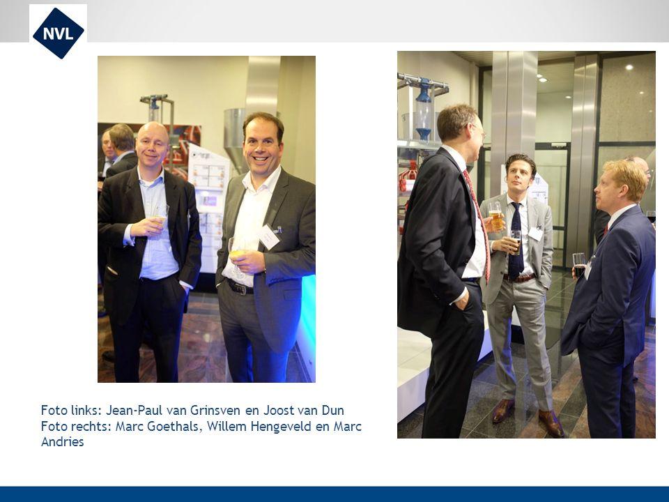 Foto links: Jean-Paul van Grinsven en Joost van Dun