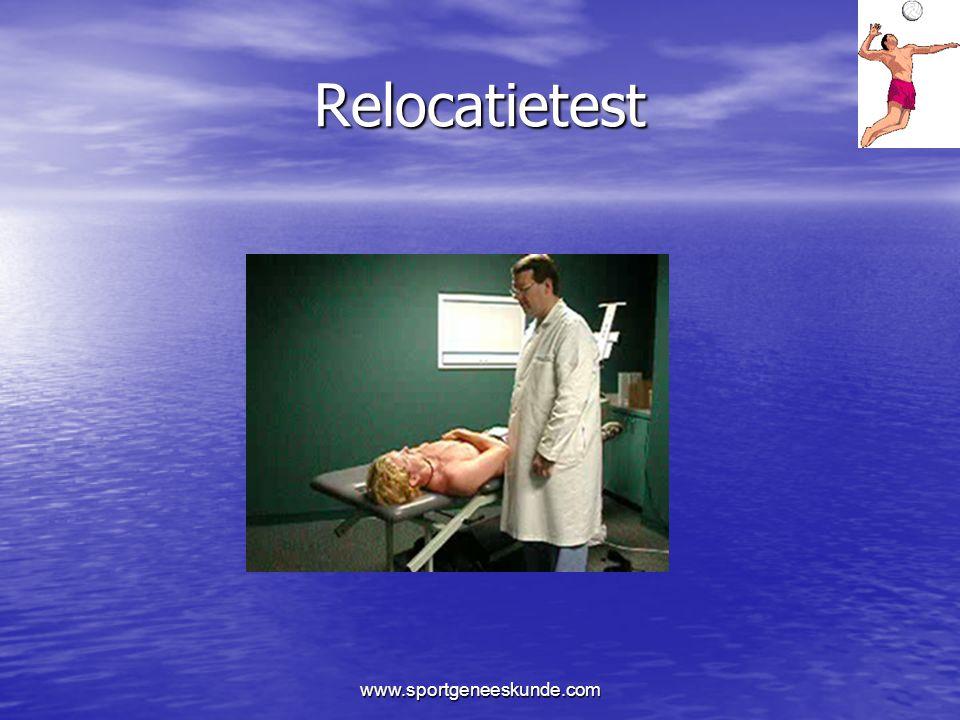 Relocatietest www.sportgeneeskunde.com