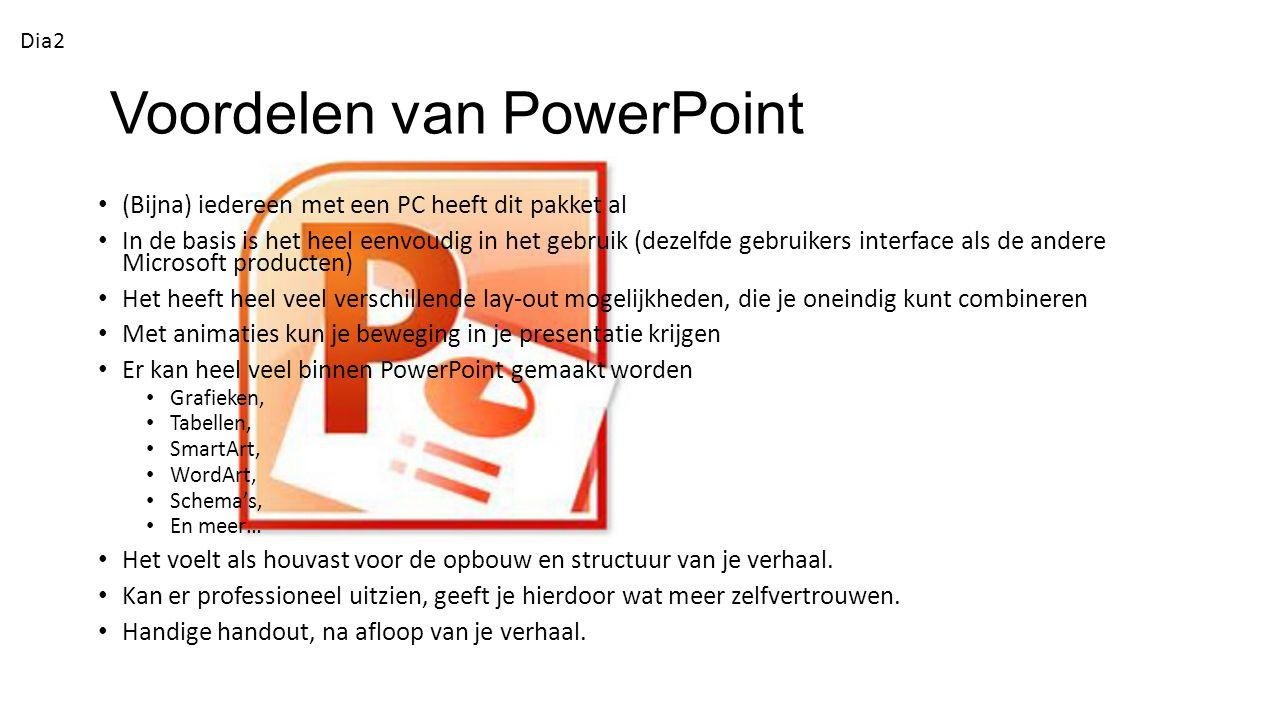 Voordelen van PowerPoint