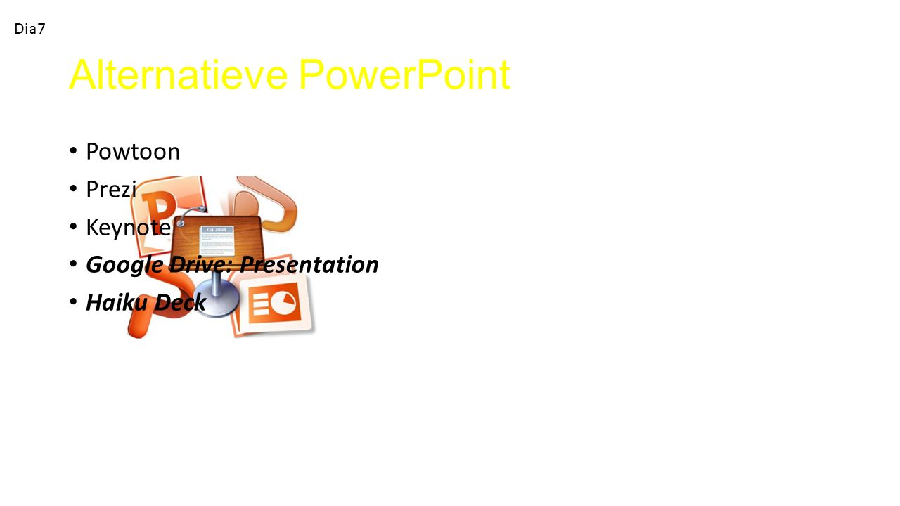 Alternatieve PowerPoint