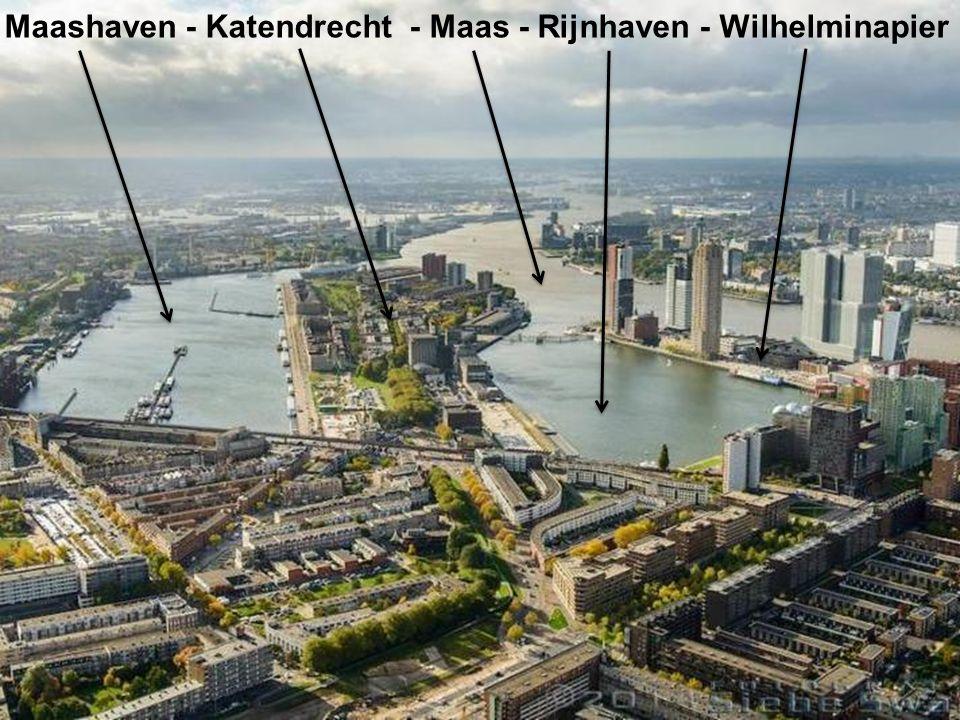 Maashaven - Katendrecht - Maas - Rijnhaven - Wilhelminapier