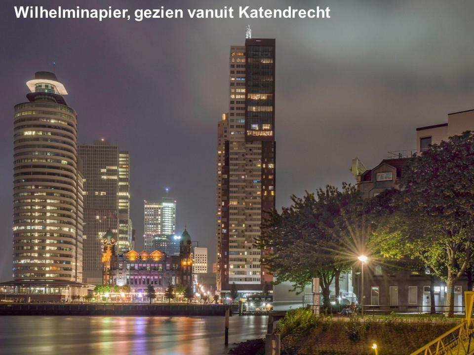 Wilhelminapier, gezien vanuit Katendrecht