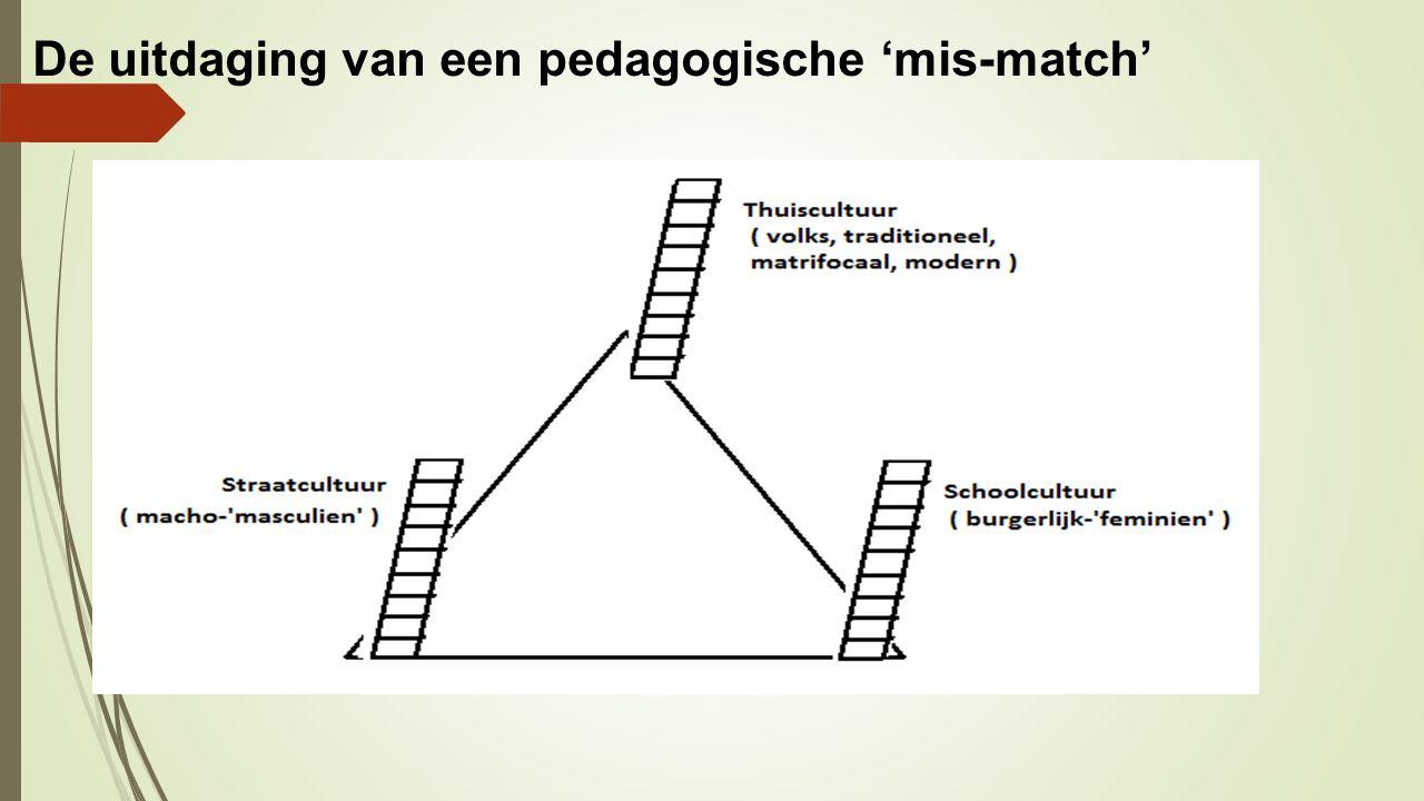 De uitdaging van een pedagogische 'mis-match'