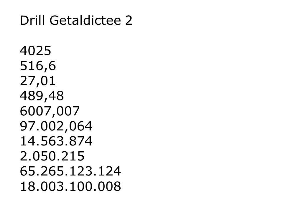 Drill Getaldictee 2 4025. 516,6. 27,01. 489,48. 6007,007. 97.002,064. 14.563.874. 2.050.215.