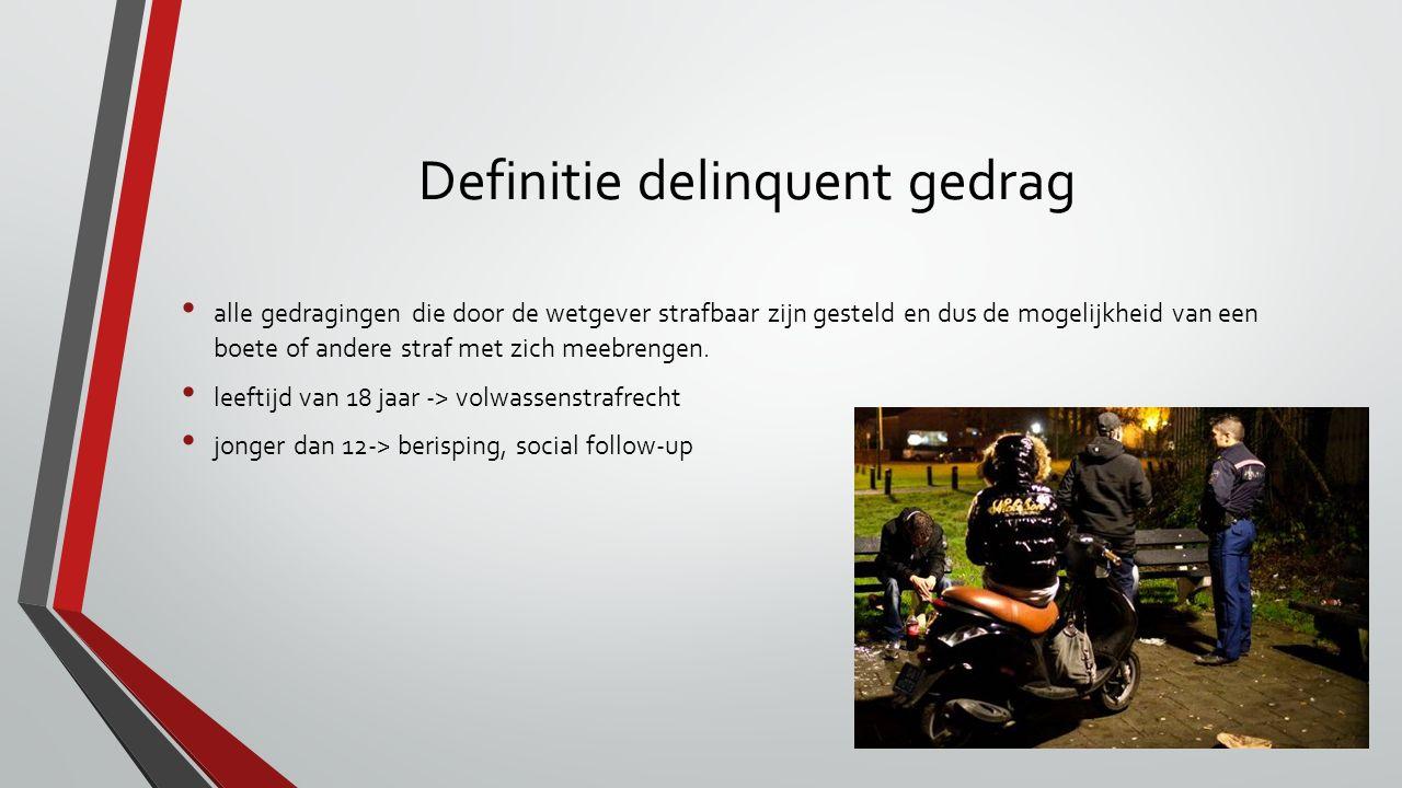 Definitie delinquent gedrag