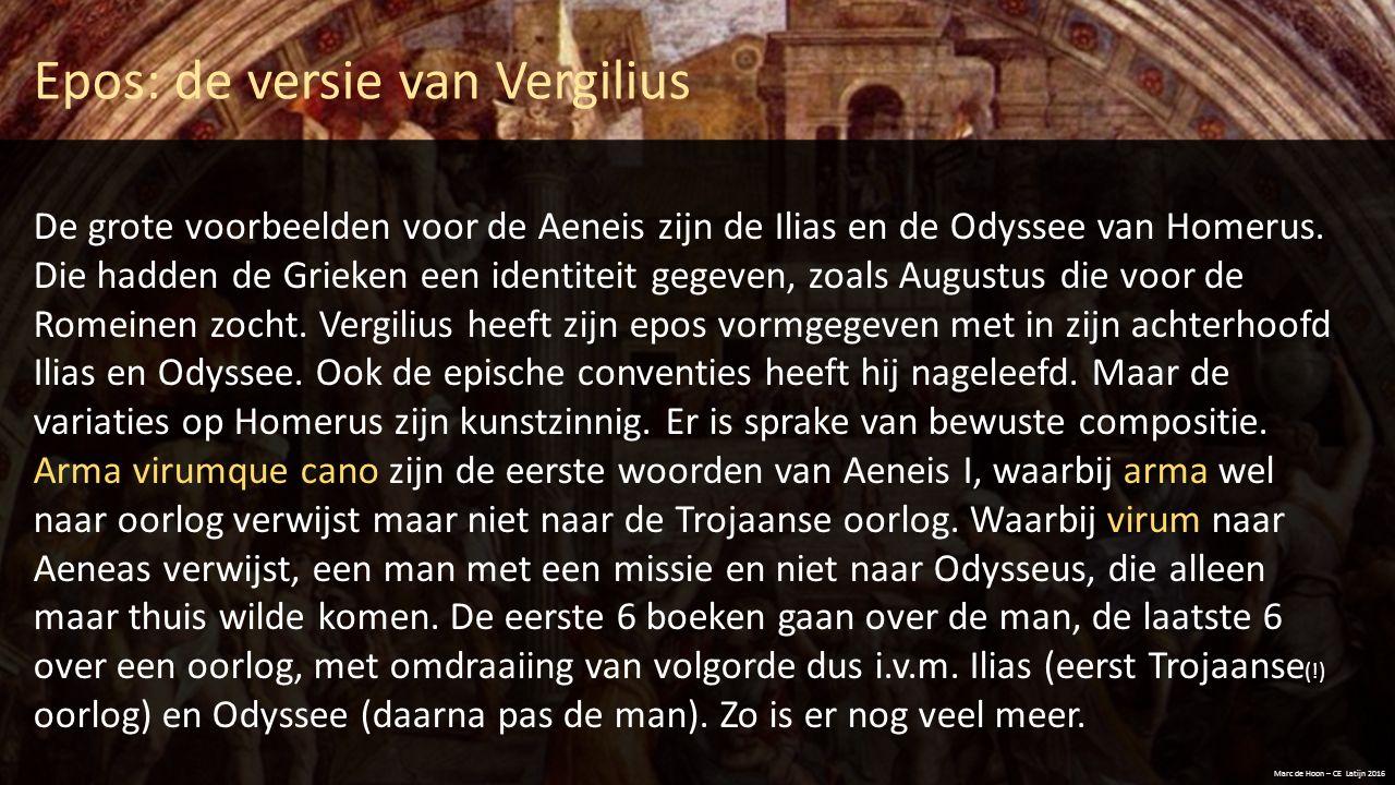 Epos: de versie van Vergilius