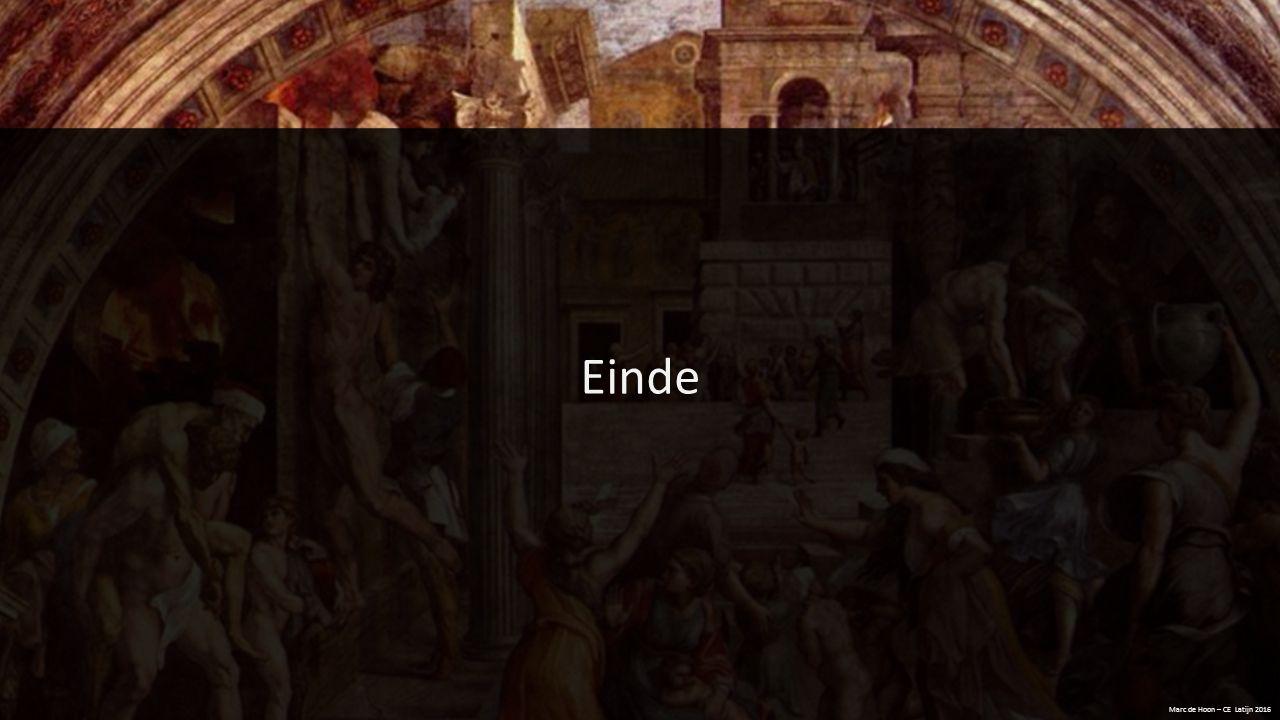 Einde Marc de Hoon – CE Latijn 2016