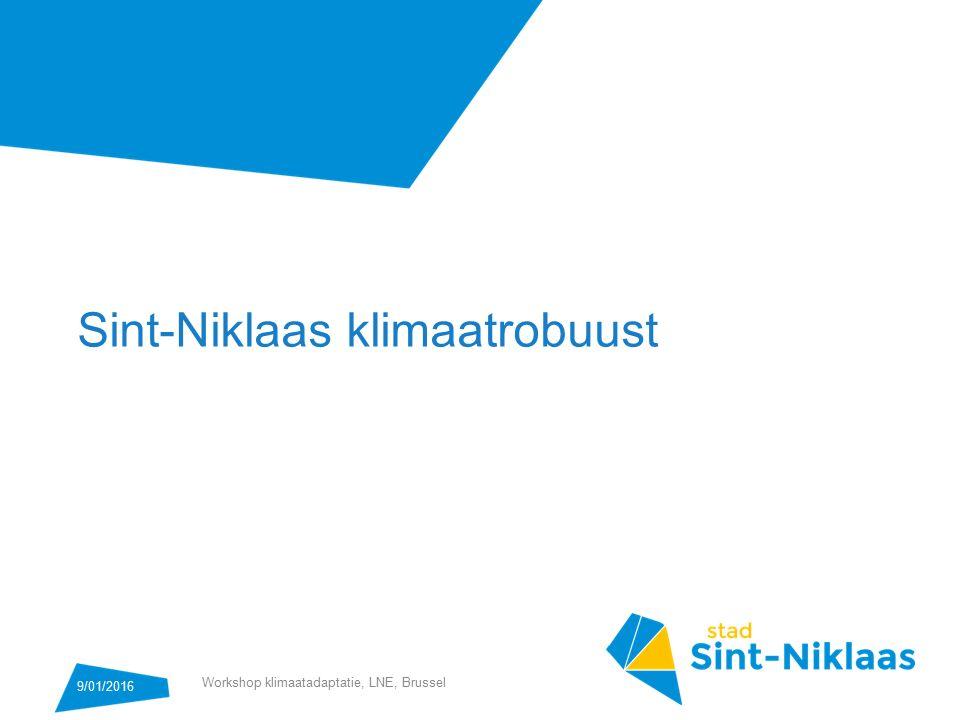Sint-Niklaas klimaatrobuust