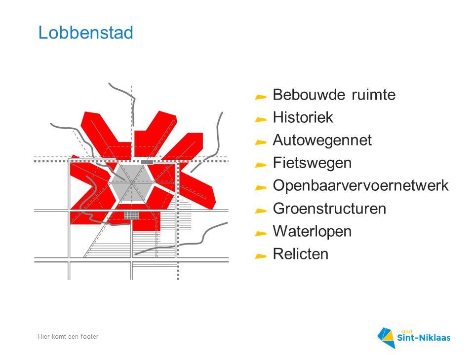 Lobbenstad Bebouwde ruimte Historiek Autowegennet Fietswegen
