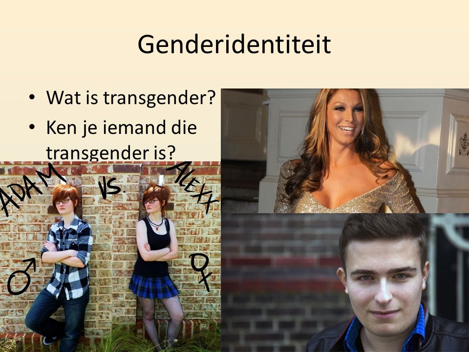 Genderidentiteit Wat is transgender Ken je iemand die transgender is