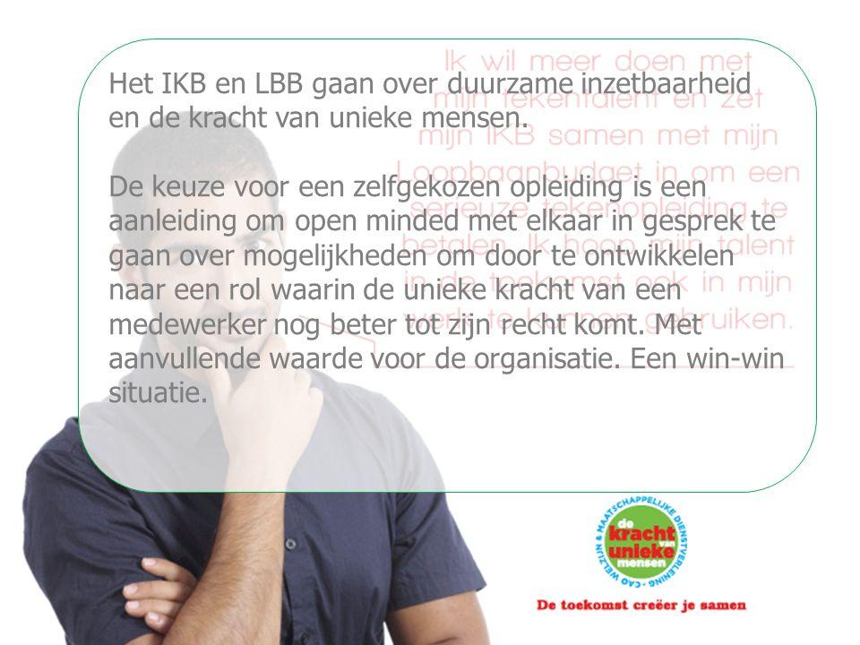 18-06-15 Het IKB en LBB gaan over duurzame inzetbaarheid en de kracht van unieke mensen.