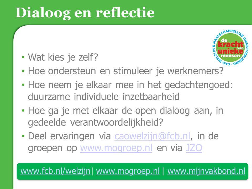 www.fcb.nl/welzijn| www.mogroep.nl | www.mijnvakbond.nl